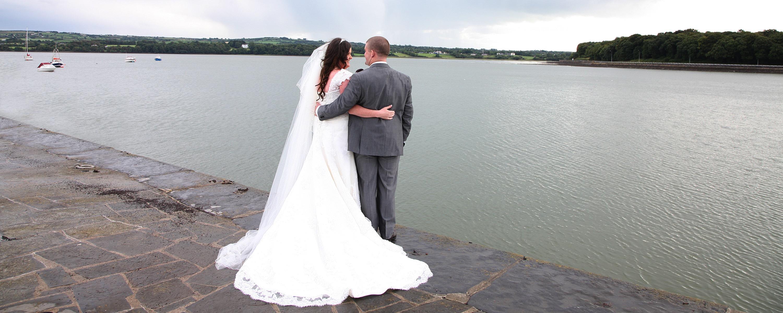Rachel and Darragh wedding in Tarbert