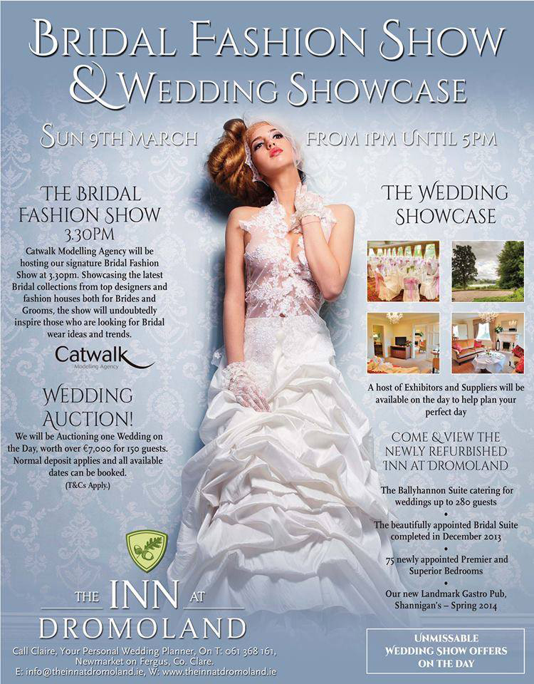 The Inn at Dromoland Wedding Showcase.