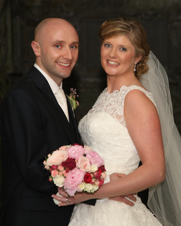 Una and Tim's fun wedding.
