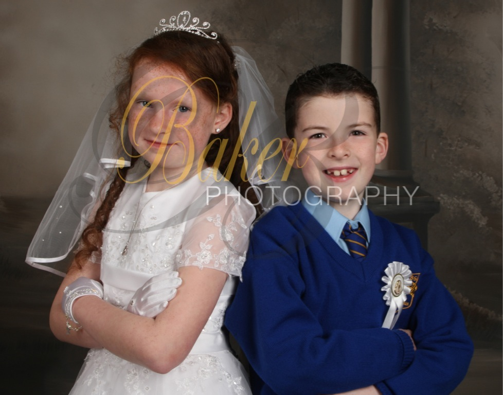 Evan & Brianne,s First Holy Communion