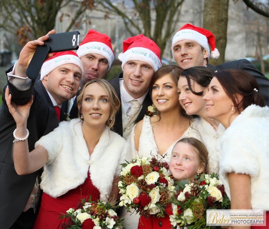 The glamorous wedding of Sarah and James